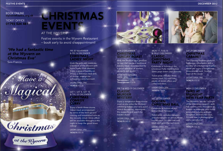 Christmas Parties at The Wyvern Theatre