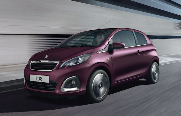 Peugeot 108 offer Swindon