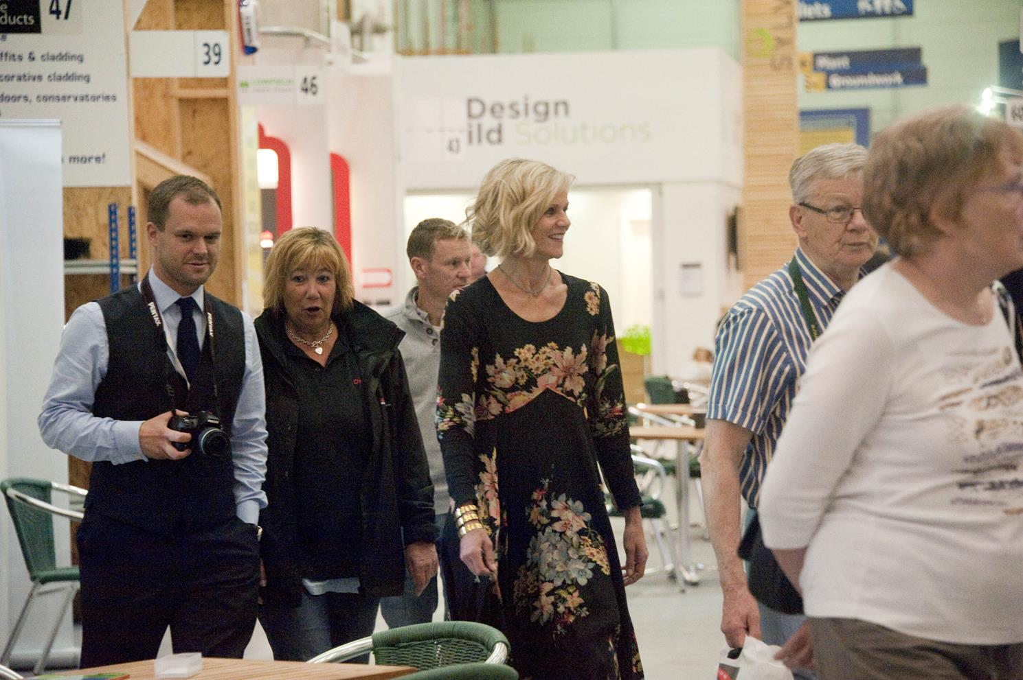 Snapped Linda Barker At The Big Home Improvement Show
