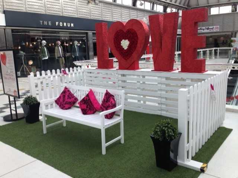 It's a Love Revolution at The Brunel Shopping Centre