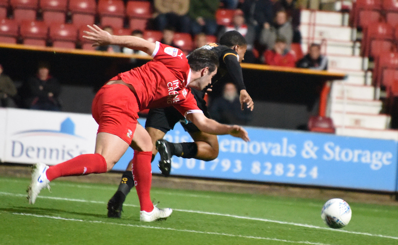 SNAPPED: SWINDON TOWN 0-2 CAMBRIDGE UNITED