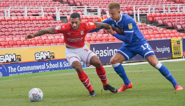 MATCH REPORT: Swindon Town (3) v (2) Carlisle United