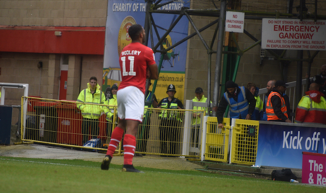 Woolery praises 'dangerous' Swindon attack as Town make it two in a row