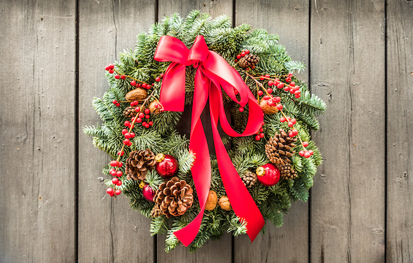 Where To Make Your Own Christmas Wreaths In Swindon