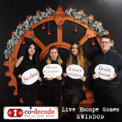 Escape Room Review: Subterra at Co-Decode Swindon