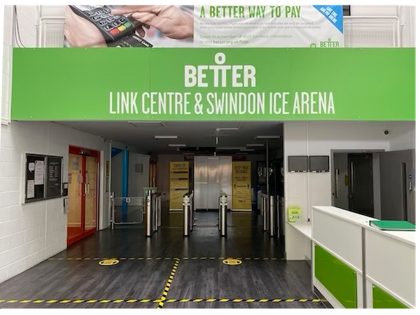 Swindon's Link Centre is ready to re-open tomorrow