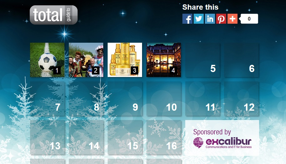 Total Swindon Online Advent Calendar 2013