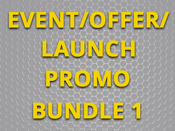 Event/Offer/Launch promo - Bundle 1