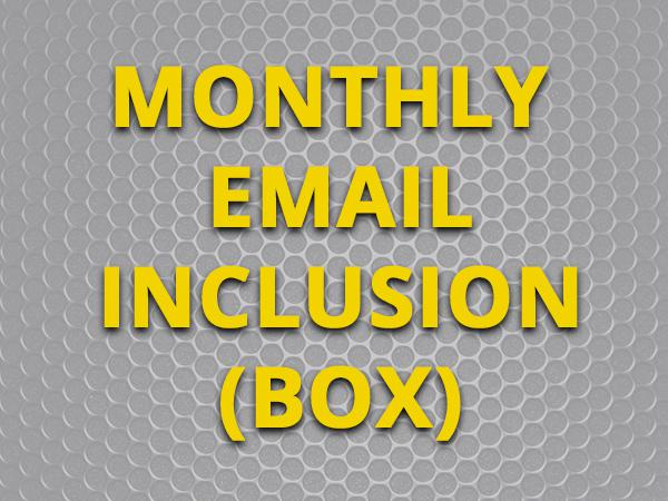 Inclusion in Total Guide to Swindon Monthly Email Newsletter - Box