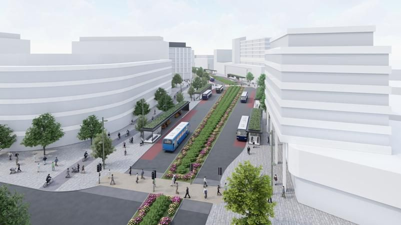 Plans to Transform Swindon Town Centre Move A Step Closer Following Government Announcement