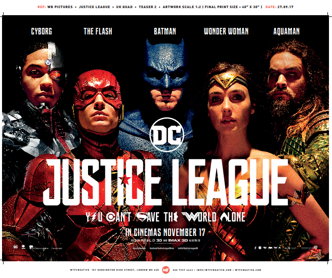 Win a Justice League Merchandise Bundle
