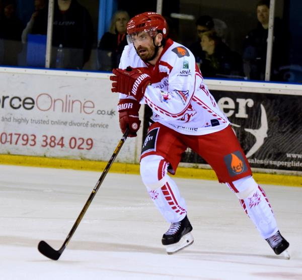 Win a Game Used Swindon Wildcats Ice Hockey Stick