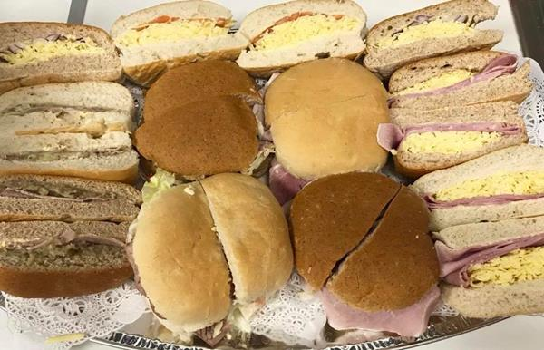 Win a Sandwich Platter for 10