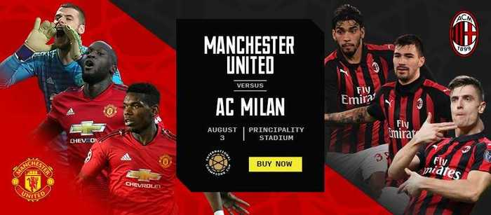 Win 2 Tickets to Manchester United v AC Milan