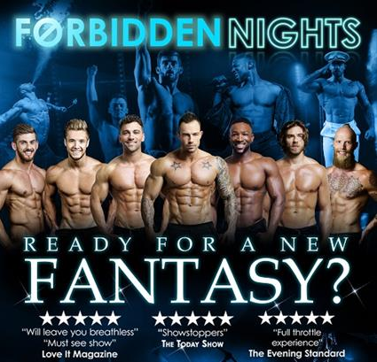 Win 4 Forbidden Nights Christmas Party Tickets