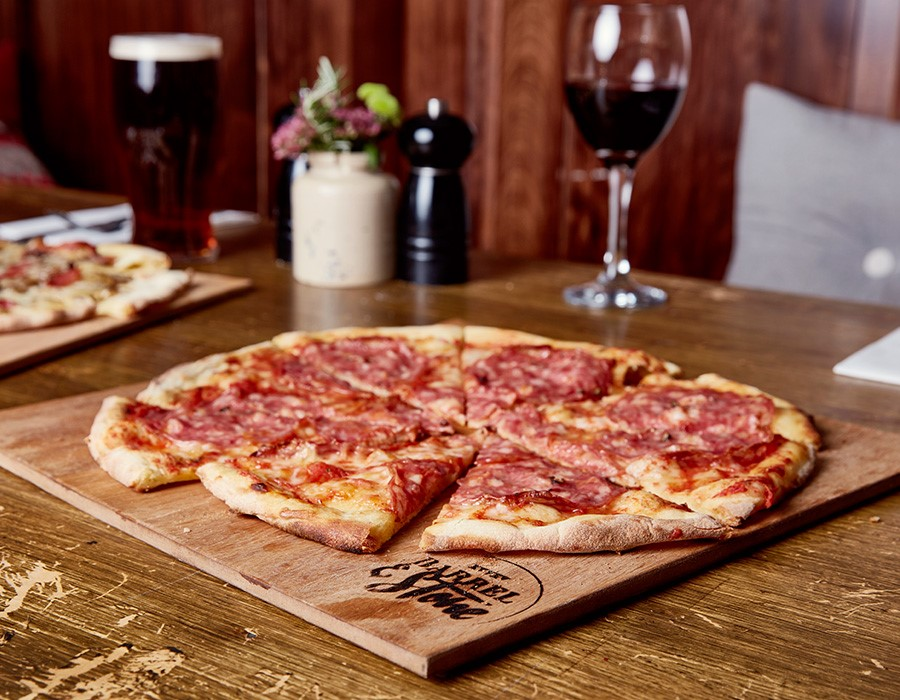 Win 12 barrel and Stone Pizzas
