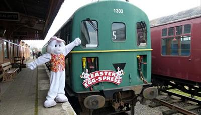 Swindon and Cricklade Railway Easter Egg-Spress