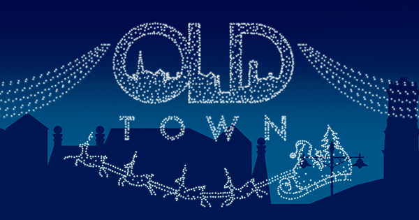 Swindon Old Town Christmas Lights Switch On 2017