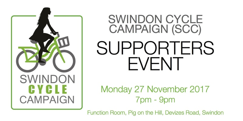 Swindon Cycle Campaign Supporters Event