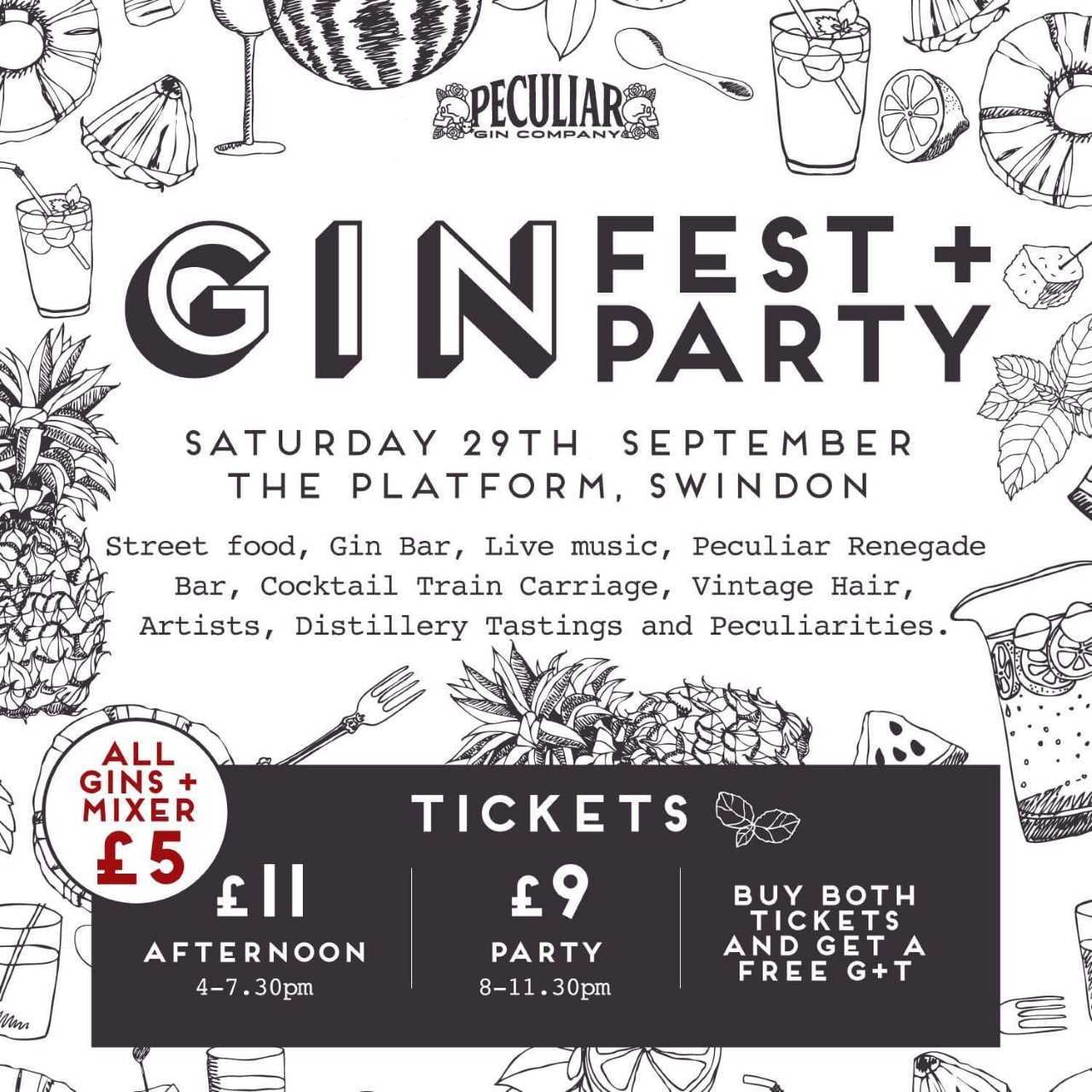 Peculiar Gin Festival and Gin Party