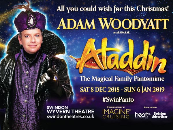 Aladdin at the Wyvern Theatre |  8th December - 6th January