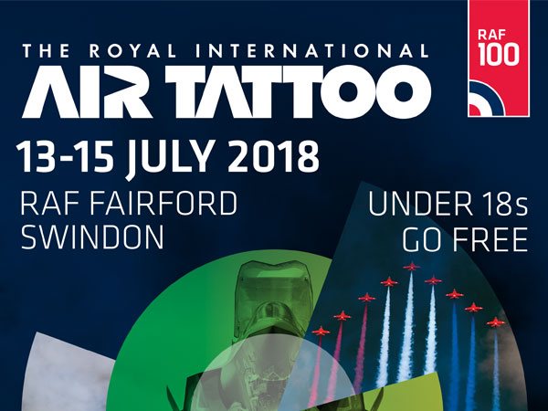 Win 2 Sunday Tickets to the Royal International Air Tattoo 2018