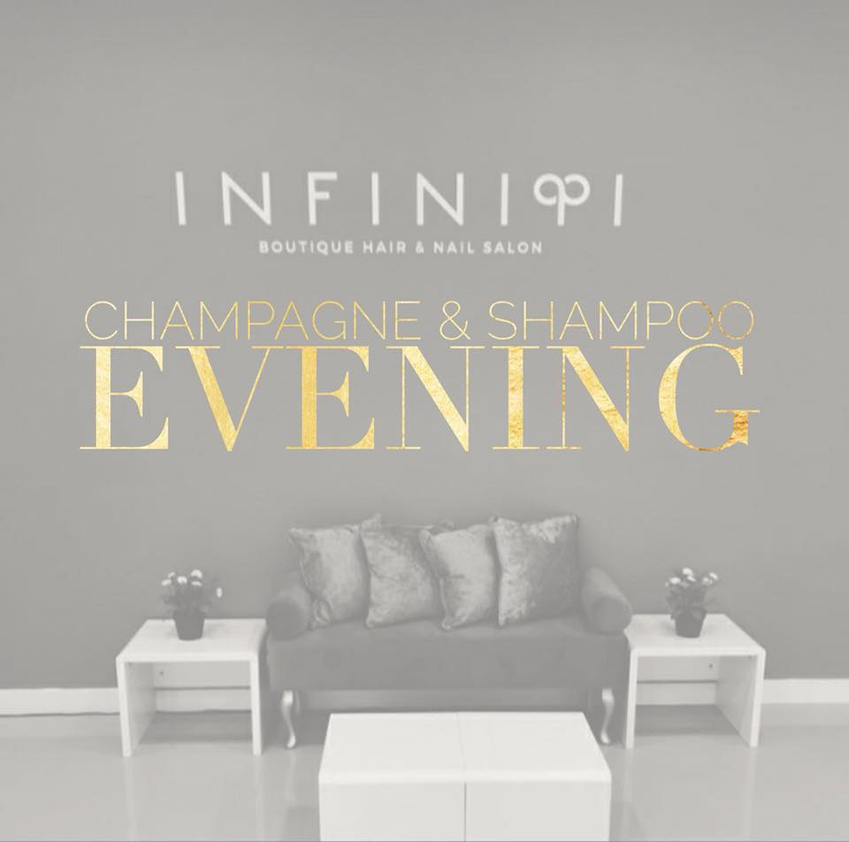 Champagne and Shampoo Evening