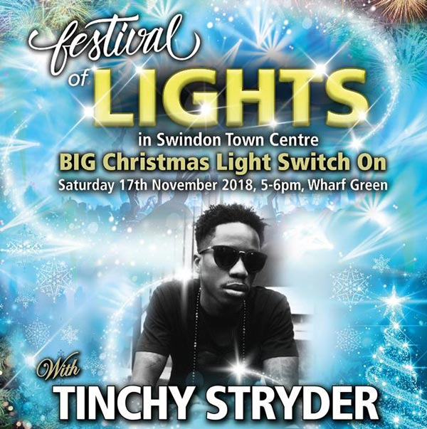 Swindon Town Centre Christmas Lights Switch On 2018