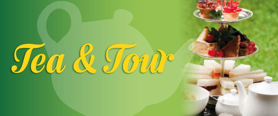 Tea & Tour Theatre Tour & Afternoon Tea Packages