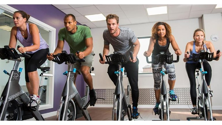 Anytime Fitness Swindon 12 Hour Spin-a-Fun