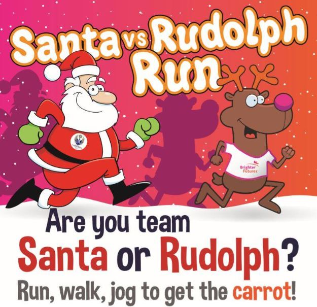 Santa vs Rudloph Run