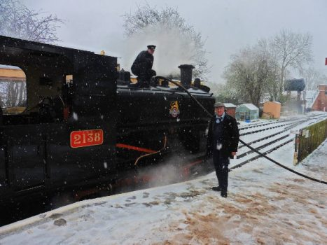 New Year's Day at Swindon & Cricklade Railway