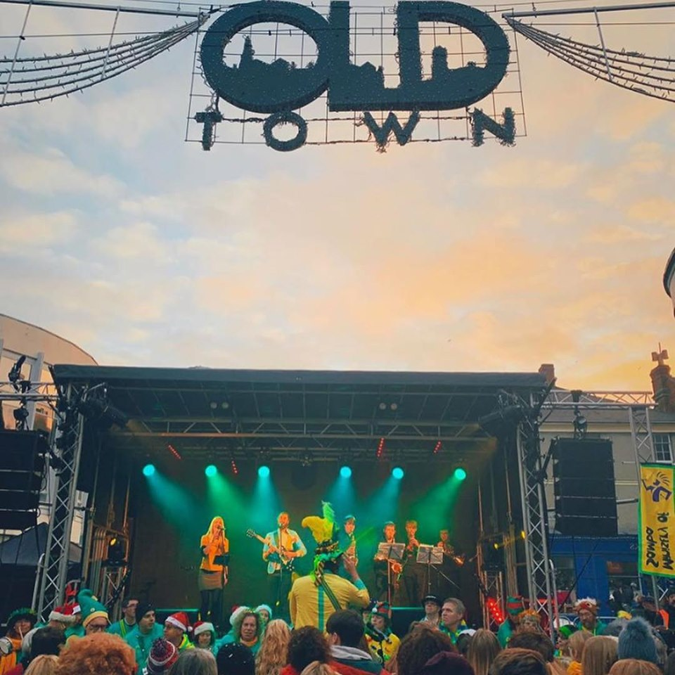 Christmas Jam 2019.Old Town Christmas Lights Switch On 2019 Old Town Swindon