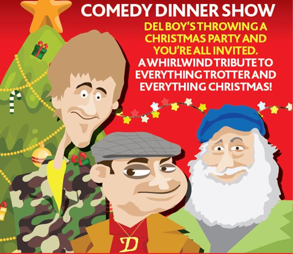 Del Boy's Christmas Carol Comedy Dinner Show