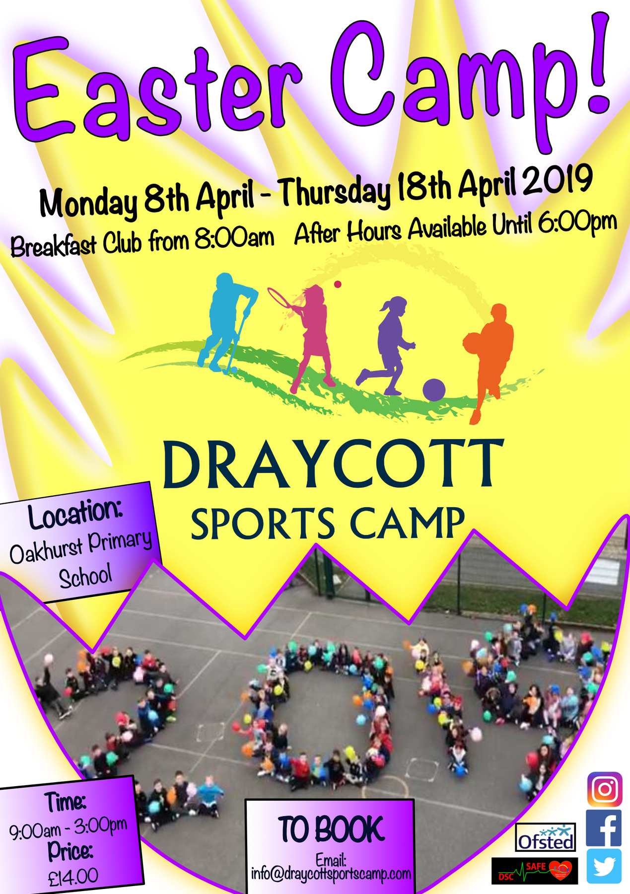 Draycott's Easter Camp