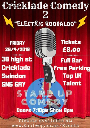 The Cricklade Club Comedy Night