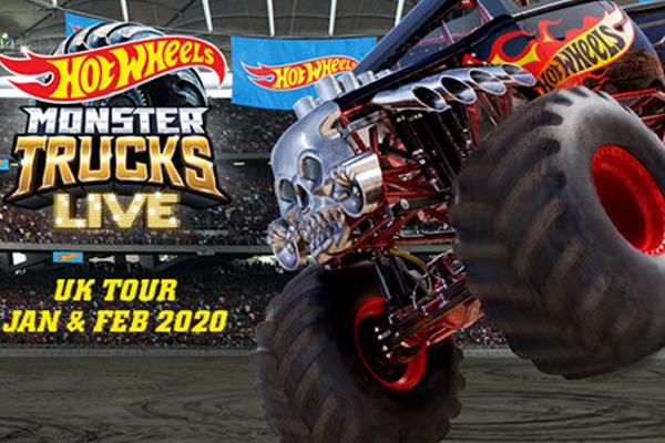 hot wheels monster trucks 2020
