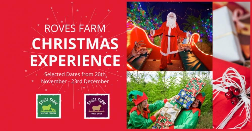 Christmas Experience and Santa's Grotto Roves Farm Swindon