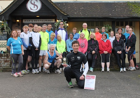 Running Group Leader Receives Regional Recognition
