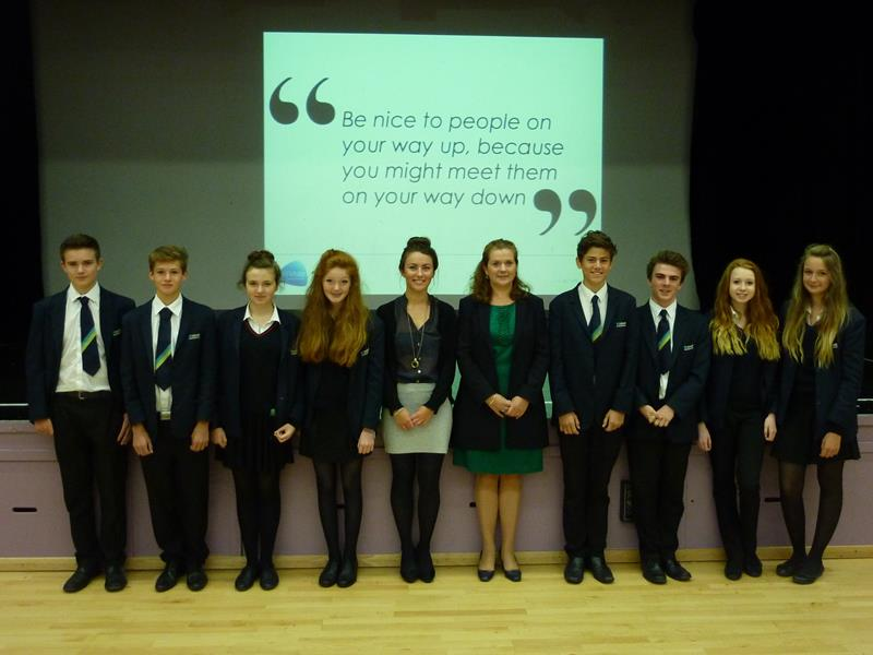 Wiltshire Lawyer Advises Students On Ways To Get Ahead In Their Careers