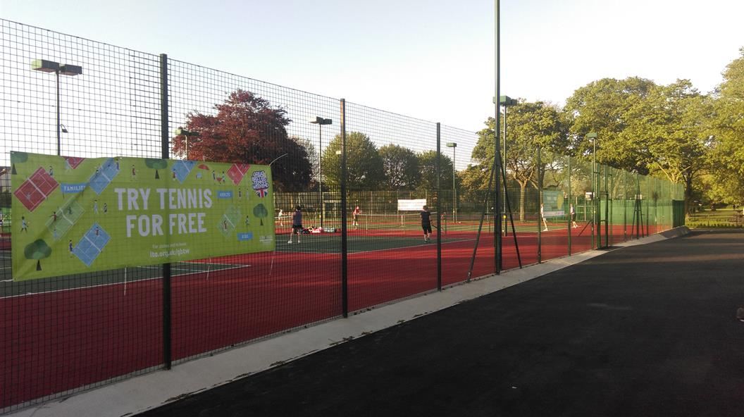 Tennis Weekend to Mark Opening of Smashing New Facilities