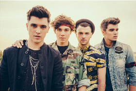 Union J are Set to Light Up Swindon This Christmas