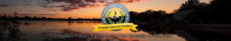 Outdoor instructor training opportunities at South Cerney Outdoor