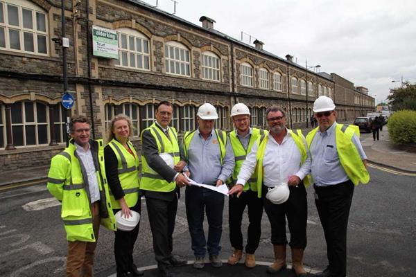 Work is Underway to Give Carriage Works a New Lease of Life