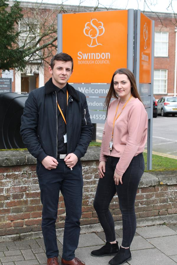 Swindon Borough Council's Own Apprentices Supporting Swindon's Communities