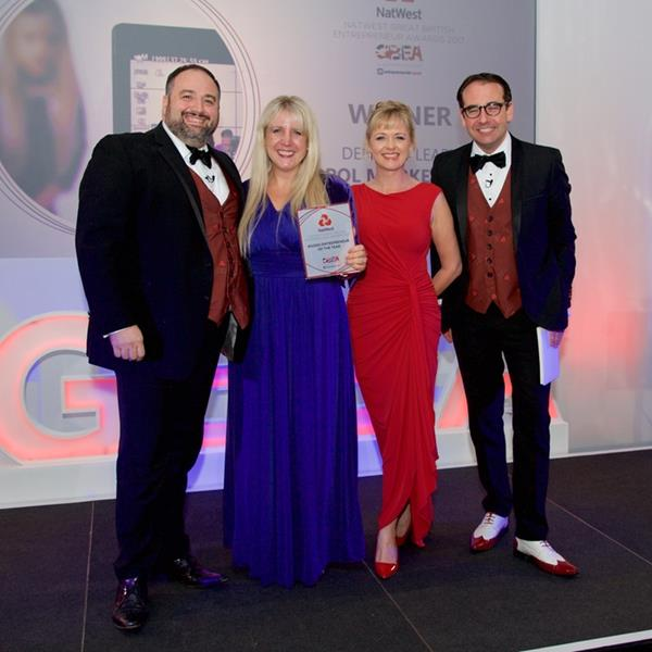 Wiltshire Marketing Expert Wins Award As The #GoDo Entrepreneur Of The Year