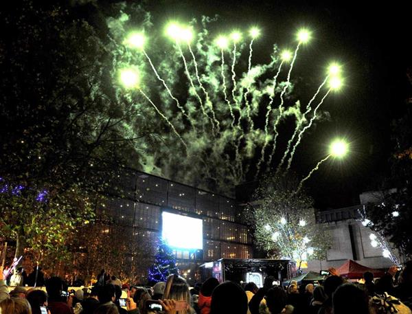 The Countdown is on to the BIG Switch On in the Swindon Town Centre