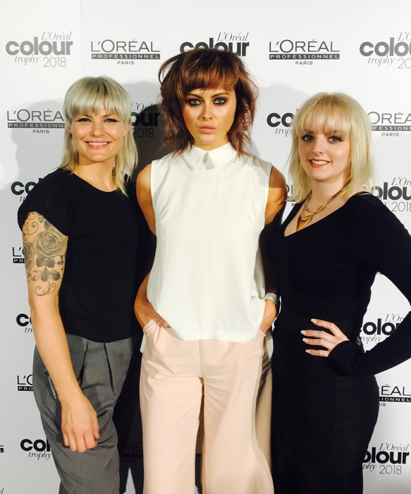 Highworth Based Salon Reaches Regional Finals of Colour Trophy