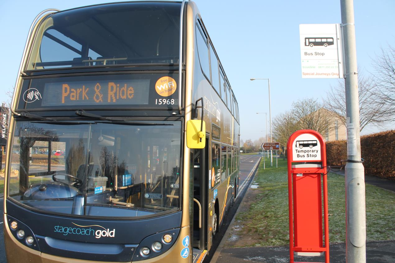 Early Christmas present for Outlet visitors in shape of free Park and Ride and 10 per cent discount