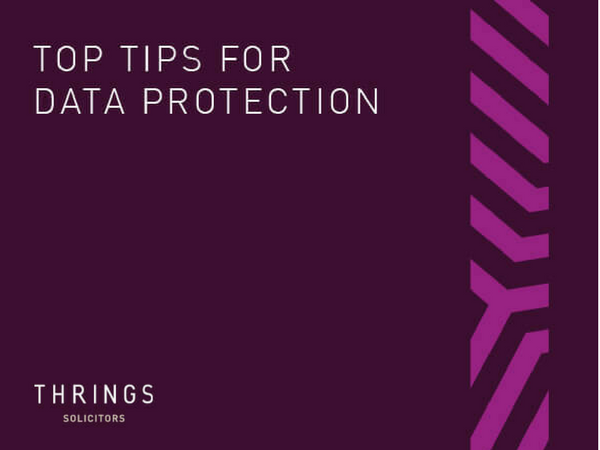 Top Tips for Data Protection from Thrings